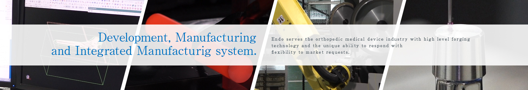 Development, Manufacturing and Integrated Manufacturig system.